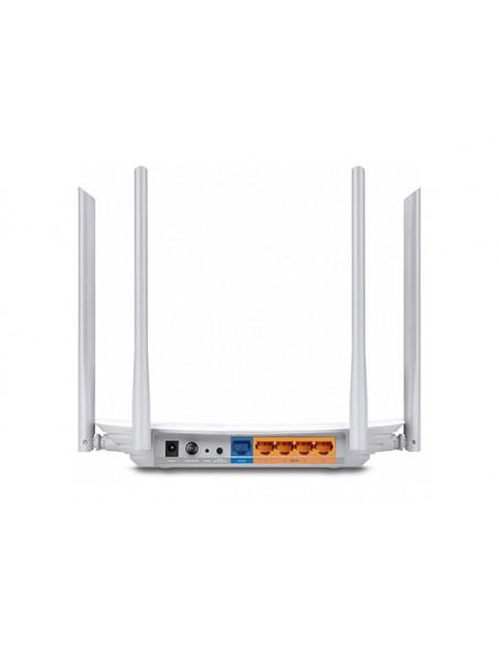TP-LINK Archer C50 langaton reititin Kaksitaajuus (2,4 GHz/5 GHz) Nopea Ethernet Valkoinen Tp-link ARCHER-C50 - 2