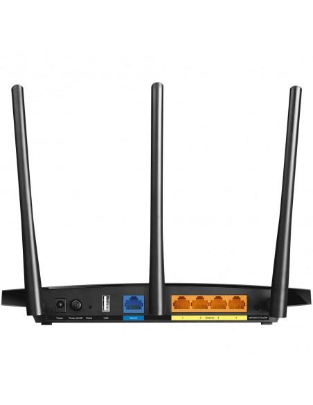 TP-LINK Archer C7 langaton reititin Kaksitaajuus (2,4 GHz/5 GHz) Gigabitti Ethernet Musta Tp-link ARCHER-C7 - 3
