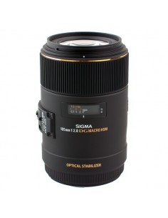 Sigma 105mm F2.8 EX DG OS HSM Macro SLR Makro-objektiivi Musta Sigma 258954 - 1