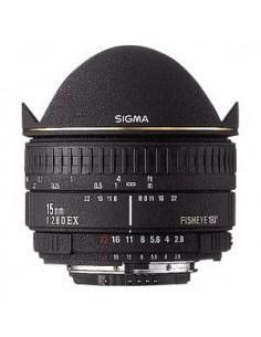 Sigma Fisheye 15mm f/2.8 EX DG Diagonal for Canon EOS Musta Sigma 476927 - 1