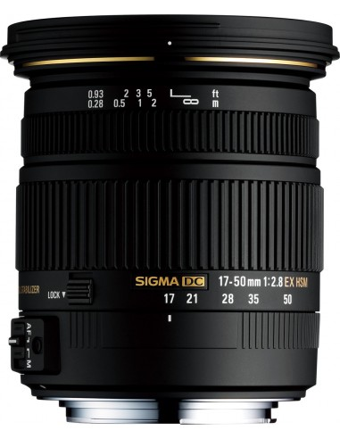 Sigma 17-50mm F2.8 EX DC OS HSM Musta Sigma 583956 - 1