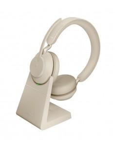 Jabra Evolve2 65. MS Stereo Kuulokkeet Pääpanta Beige Jabra 26599-999-988 - 1