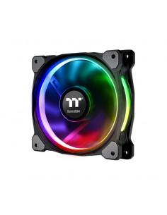 Thermaltake CL-F076-PL12SW-A tietokoneen jäähdytyskomponentti Tietokonekotelo Tuuletin 12 cm Musta Thermaltake CL-F076-PL12SW-A