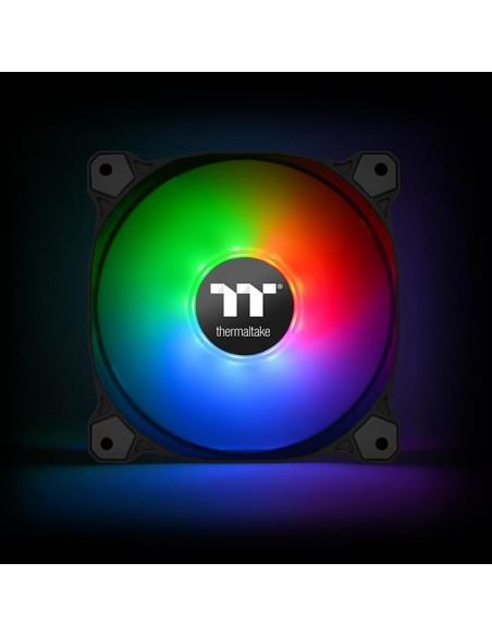 Thermaltake CL-F079-PL12SW-A tietokoneen jäähdytyskomponentti Tietokonekotelo Tuuletin 12 cm Musta Thermaltake CL-F079-PL12SW-A