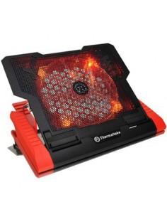 """Thermaltake Massive 23 GT kannettavan tietokoneen jäähdytysalusta 43.2 cm (17"""") Musta, Punainen Thermaltake CLN0019 - 1"""