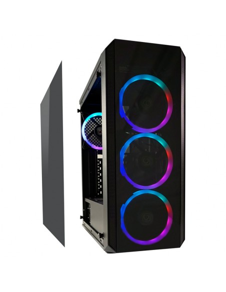 LC-Power Gaming 703B Midi Tower Musta Lc Power LC-703B-ON - 3
