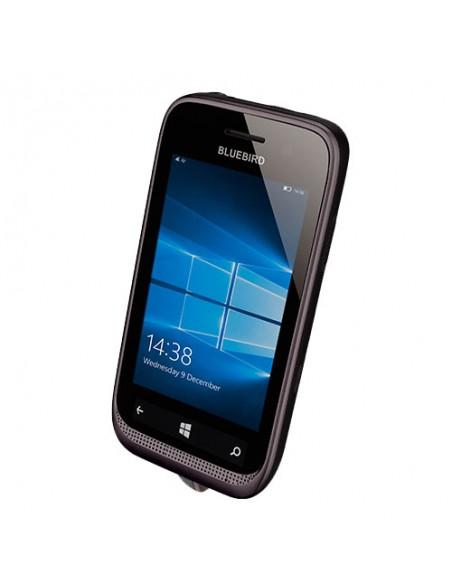 "Bluebird EF400 mobiilitietokone 10.2 cm (4"") 800 x 480 pikseliä Kosketusnäyttö 200 g Musta Bluebird EF400-A4LAW - 2"