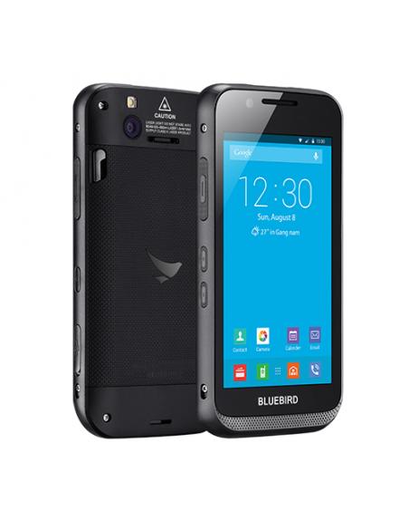 "Bluebird EF500 mobiilitietokone 12.7 cm (5"") 1280 x 720 pikseliä Kosketusnäyttö 260 g Musta Bluebird EF500-A4LDH - 2"