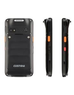 "CUSTOM RANGER PRO mobiilitietokone 12.7 cm (5"") 1280 x 720 pikseliä 250 g Musta Custom 93DKZ012100L33 - 1"