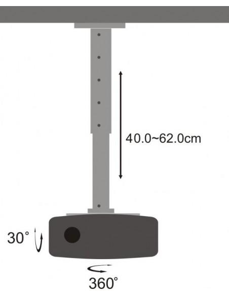 SBOX PM-102L projektorin kiinnike Katto Hopea Sbox PM-102L - 3