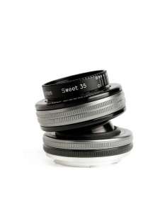 Lensbaby Composer Pro II with Sweet 35 Optic SLR Musta, Hopea Lensbaby LBCP235N - 1