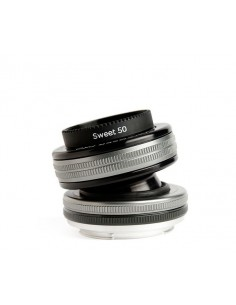 Lensbaby Composer Pro II with Sweet 50 Optic SLR Musta, Hopea Lensbaby LBCP250C - 1