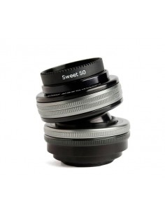 Lensbaby Composer Pro II with Sweet 50 Optic SLR Musta, Hopea Lensbaby LBCP250X - 1