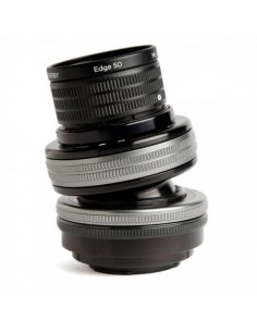 Lensbaby Composer Pro II with Edge 50 SLR Musta, Hopea Lensbaby LBCP2E50X - 1