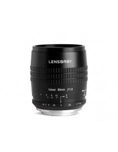 Lensbaby Velvet 85 SLR Makro-objektiivi Lensbaby LBV85N - 1