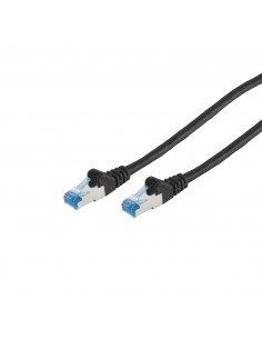 S-Conn 75711-0.25S verkkokaapeli 0.25 m Cat6a S/FTP (S-STP) Musta No-name 75711-0.25S - 1