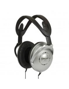 Koss UR18 kuulokkeet ja kuulokemikrofoni Pääpanta Musta, Hopea Koss 145184903 - 1