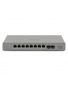 Cisco Meraki GS110 hanterad Gigabit Ethernet (10/100/1000) Grå Cisco GS110-8-HW-EU - 1