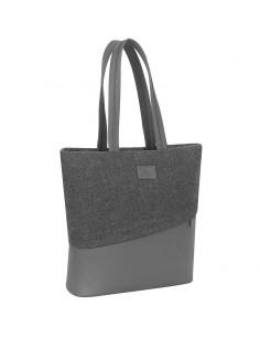 """Rivacase 7991 laukku kannettavalle tietokoneelle 33.8 cm (13.3"""") Naisten laukut Harmaa Rivacase 4260403573334 - 1"""