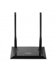 Edimax N300 langaton reititin Yksi kaista (2,4 GHz) Nopea Ethernet Musta Edimax BR-6428NS V5 - 1