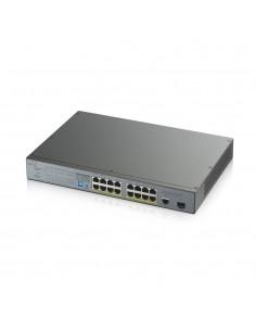 Zyxel GS1300-18HP-EU0101F verkkokytkin Hallitsematon Gigabit Ethernet (10/100/1000) Harmaa Power over -tuki Zyxel GS1300-18HP-EU