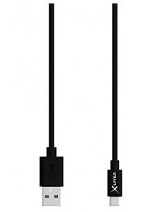 XLayer 210326 USB-kaapeli 1.2 m 2.0 USB A Micro-USB Musta Xlayer 210326 - 1