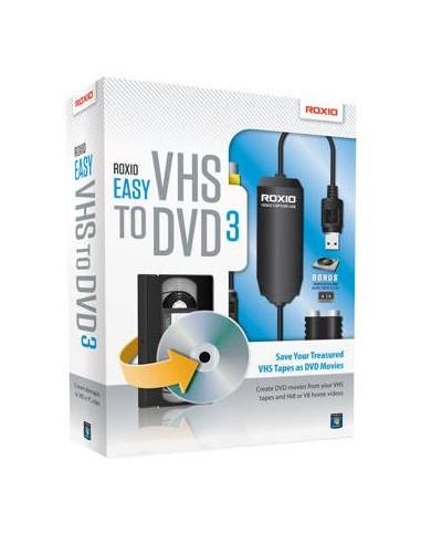 Corel Easy VHS to DVD 3. Win, ML Corel 253000EU - 1