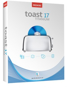 Corel Roxio Toast 17 Titanium Corel RTOT17MLMBEU - 1