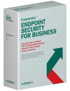 Kaspersky Lab Endpoint Security f/Business - Advanced, 250-499u, 1Y, Base Peruslisenssi 1 vuosi/vuosia Kaspersky KL4867XATFS - 1