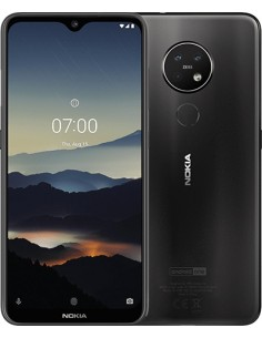 "Nokia 7.2 16 cm (6.3"") 4 GB 64 Kaksois-SIM 4G USB Type-C Puuhiili Android 9.0 3500 mAh Nokia 6830AA002186 - 1"