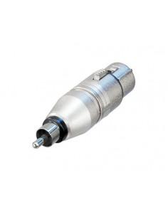 Neutrik NA2FPMM kaapeli liitäntä / adapteri RCA XLR Hopea Neutrik NA2FPMM - 1