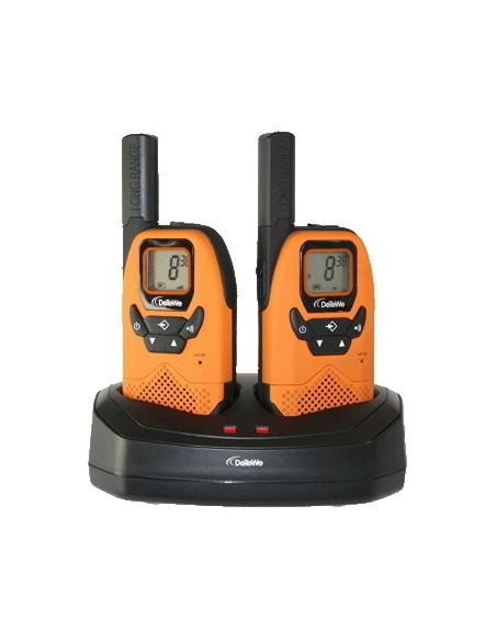 DeTeWe Outdoor 8000 Duo Case radiopuhelin 38 kanavaa 446 MHz Detewe 208046 - 1