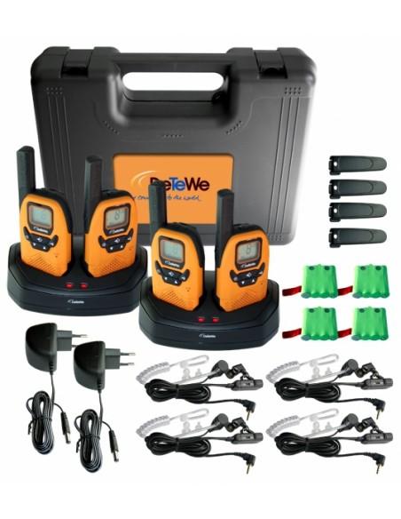 DeTeWe Outdoor 8000 Quad Case radiopuhelin 8 kanavaa Detewe 208048 - 2
