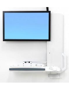 """Ergotron 61-081-062 monitorin kiinnike ja jalusta 61 cm (24"""") Valkoinen Ergotron 61-081-062 - 1"""
