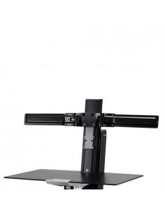 """Ergotron Dual Monitor Double-Hinged Bow 63.5 cm (25"""") Svart Ergotron 98-101-009 - 1"""