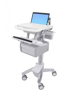 Ergotron StyleView Grey Notebook Multimedia cart Ergotron SV43-11C0-0 - 1