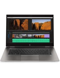 "HP ZBook Studio G5 Mobiilityöasema 39.6 cm (15.6"") 1920 x 1080 pikseliä Kosketusnäyttö 9. sukupolven Intel® Core™ i7 32 GB Hp 8J"