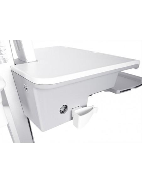 Multibrackets 0964 multimediavagnar & ställ Silver, Vit PC Multimediavagn Multibrackets 7350073730964 - 5