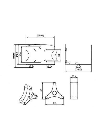 Multibrackets M PC Holder Multibrackets 7350073734658 - 5