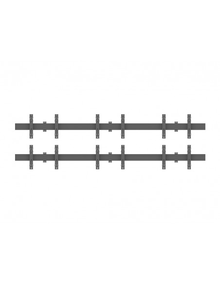 Multibrackets M Wallmount Pro MBW3x2U Push In Pop Out Black Multibrackets 7350073735006 - 2