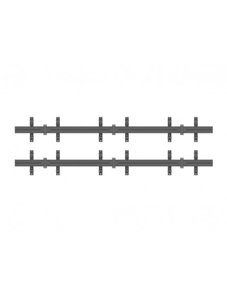Multibrackets M Wallmount Pro MBW3x2U Push In Pop Out Black Multibrackets 7350073735006 - 4