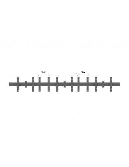 """Multibrackets 5006 kyltin näyttökiinnike 165.1 cm (65"""") Musta Multibrackets 7350073735006 - 8"""