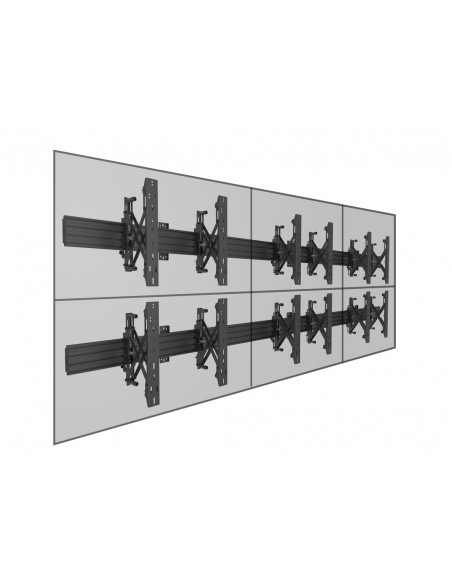 Multibrackets M Wallmount Pro MBW3x2U Push In Pop Out Black Multibrackets 7350073735006 - 12