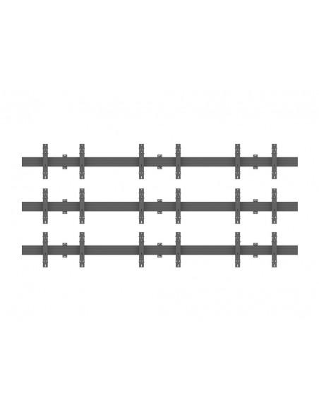 """Multibrackets 5013 kyltin näyttökiinnike 165.1 cm (65"""") Musta Multibrackets 7350073735013 - 2"""