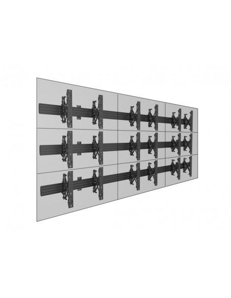 """Multibrackets 5013 fäste för skyltningsskärm 165.1 cm (65"""") Svart Multibrackets 7350073735013 - 12"""