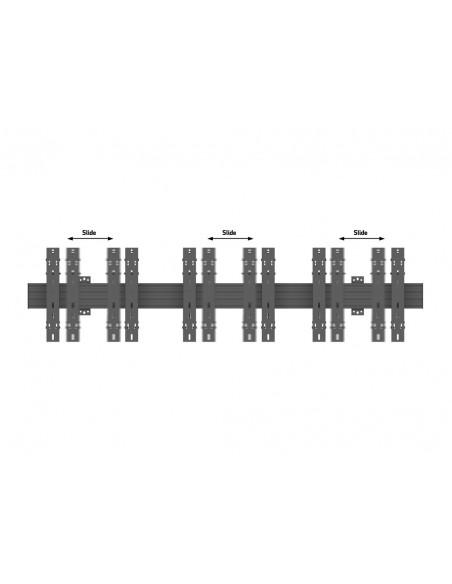 """Multibrackets 5037 fäste för skyltningsskärm 139.7 cm (55"""") Svart Multibrackets 7350073735037 - 8"""