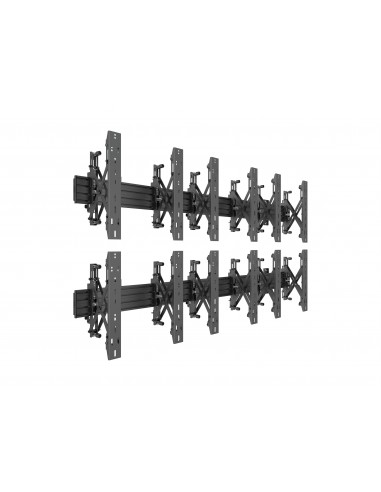 Multibrackets M Wallmount Pro MBW3x2UP Push In Pop Out Black Multibrackets 7350073735044 - 1