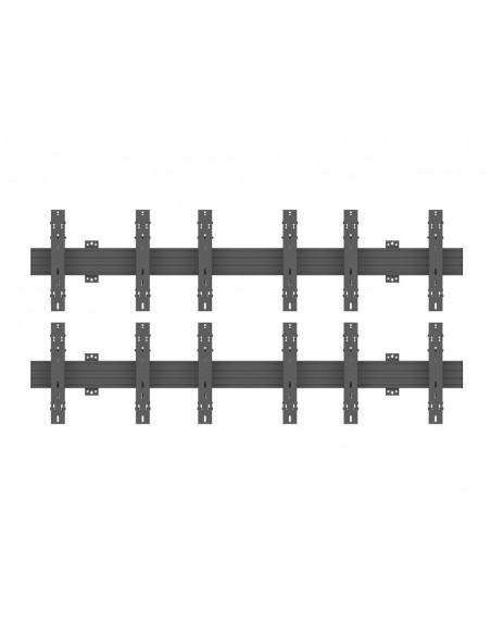 """Multibrackets 5044 kyltin näyttökiinnike 139.7 cm (55"""") Musta Multibrackets 7350073735044 - 2"""