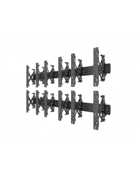 Multibrackets M Wallmount Pro MBW3x2UP Push In Pop Out Black Multibrackets 7350073735044 - 3