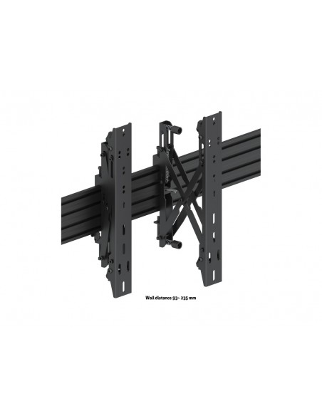 """Multibrackets 5044 kyltin näyttökiinnike 139.7 cm (55"""") Musta Multibrackets 7350073735044 - 10"""